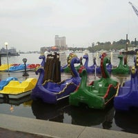 Photo taken at Inner Harbor Paddle Boat Dock by James B. on 4/18/2012