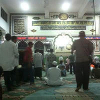 Photo taken at Masjid Agung Al-Azhar by Mahendra H. on 7/22/2012