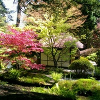 Photo taken at Tatton Park Japanese Garden by Daryl H. on 5/13/2012
