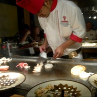 Photo taken at Benihana by Pauline L. on 7/10/2012