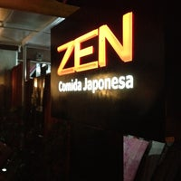 Photo taken at Zen Comida Japonesa by André S. on 5/19/2012