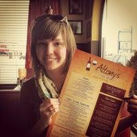 Photo taken at Altony's Italian Cafe and Wine Bar by Max K. on 3/9/2012