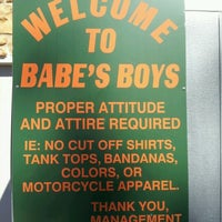 Photo taken at Babes Boys Tavern by Lynn R. on 9/11/2012