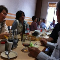 Photo taken at El Pollo Alegre by Liliana P. on 6/24/2012
