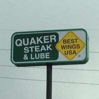 Photo taken at Quaker Steak & Lube® by Clinton F. on 3/4/2012