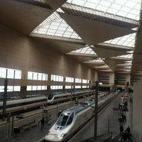 Photo taken at Estación de Zaragoza - Delicias by Tomás R. on 4/29/2012
