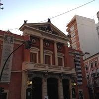 Photo taken at Teatre Principal by Migue M. on 3/13/2012