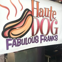 Photo taken at Haute Dog Carte by Andrew H. on 7/12/2012
