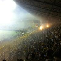 Photo taken at Estádio Heriberto Hülse by Cristiano T. on 4/5/2012