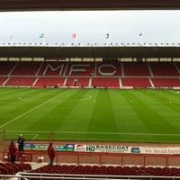 Photo taken at Riverside Stadium by Craig D. on 8/21/2012