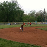 Photo taken at West Side Little League by Lindsay P. on 4/21/2012