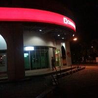 Photo taken at CimbBank, Bundusan Plaza by Bibie A. on 4/4/2013