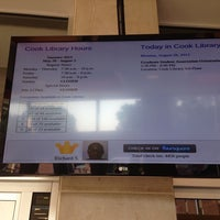 Photo taken at Albert S. Cook Library by Elliott P. on 8/26/2013