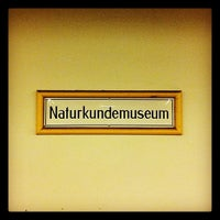 Photo taken at U Naturkundemuseum by Ozlem A. on 10/25/2012