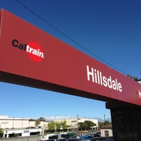 Photo taken at Hillsdale Caltrain Station by Andrew Z. on 6/17/2013