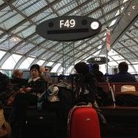 Photo taken at Gate F49 by Roman E. on 2/20/2013