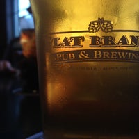 Photo taken at Flat Branch Pub & Brewing by Eric Z. on 4/29/2013