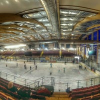 Photo taken at Ice Arena Wales by Jason V. on 9/14/2014
