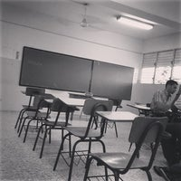 Photo taken at Universidad Católica Santo Domingo (UCSD) by Carlos G. on 5/24/2013