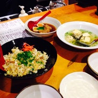 Photo taken at あじ彩 by Tomomi F. on 10/17/2014