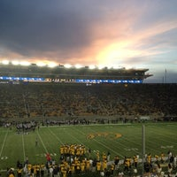 Photo taken at California Memorial Stadium by Aaron M. on 11/3/2012