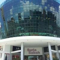 Photo taken at Suria Sabah Shopping Mall by †MuMu I. on 10/30/2012