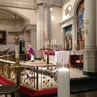 Photo taken at Church of Saint Agnes by donna w. on 12/10/2012