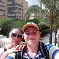 Photo taken at Hotel Prince Park, Benidorm by александр г. on 8/31/2014