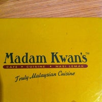 Photo taken at Madam Kwan's by RH on 12/8/2012