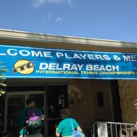 Photo taken at Delray Beach International Tennis Championships (ITC) by Marlena H. on 3/1/2013
