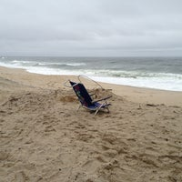 Photo taken at Karge Street Beach by Alex B. on 1/16/2013