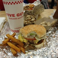 Photo taken at Five Guys by Kristine on 2/22/2013