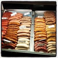 Photo taken at Rosamunde Sausage Grill by Ingo R. on 2/9/2013