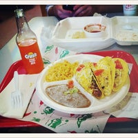 Photo taken at Taco Shack by jeff o. on 3/11/2012