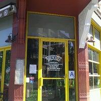 Photo taken at Bareburger by Casey B. on 6/1/2012