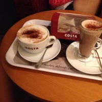 Photo taken at Costa Coffee by Murat G. on 11/15/2014