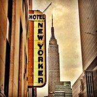 Photo taken at Wyndham New Yorker by Josh B. on 10/27/2012