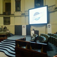Photo taken at Aula Academica, UGent by Pavel B. on 9/26/2012
