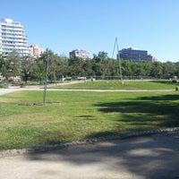 Photo taken at Parque de las Esculturas by Gonzalo M. on 11/18/2012