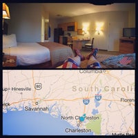 Photo taken at Candlewood Suites Charleston-Ashley Phosphate by Mike B. on 6/18/2014