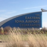 Photo taken at The Eastern Iowa Airport (CID) by Ron A. on 11/15/2012