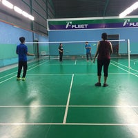 Photo taken at Pro One Badminton Centre by Adwa N. on 10/5/2016
