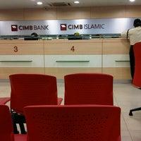 Photo taken at CIMB Bank Bandar Puteri Puchong by MiZsLurVe B. on 9/24/2012