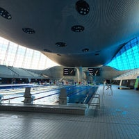 Photo taken at London 2012 Aquatics Centre by James B. on 8/23/2014