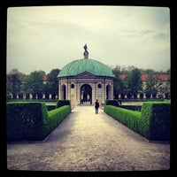 Photo taken at Hofgarten by Ben H. on 5/1/2013