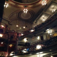 Photo taken at Victoria Palace Theatre by Helene S. on 5/10/2013