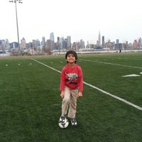 Photo taken at Weehawken Waterfront Park and Recreation Center by Prasad M. on 4/28/2013