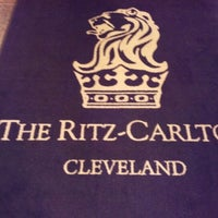 Photo taken at The Ritz-Carlton, Cleveland by William M. on 12/8/2012