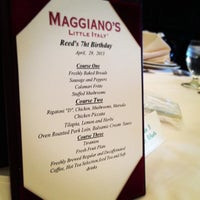 Photo taken at Maggiano's Little Italy by Oliver E. on 4/28/2013
