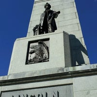 Photo taken at Lincoln Tomb State Historic Site by Amber on 10/8/2012
